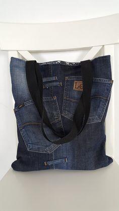 Recy-jeansová kabela XVI. | Zobrazit plnou velikost fotografie