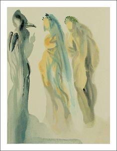 Divina Commedia, Paradiso, Salvador Dali