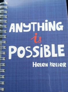 Anything IS possible!!! :-)