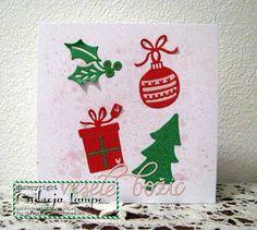 Ustvarja An.La: Christmas Card Throwdown: September - Colours