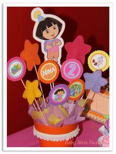 Baby Nina Fiestas: Fiesta temática Dora la exploradora para nuestra princesita Nina!!!