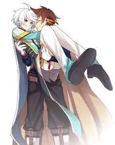 Sinceramente no me gusta mucho esta combinación, pero para los que si, pues les dejo esto ;) ~ Tales of Zestiria the X
