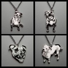 custom pibble necklace.. don't you wish your doggie was cute like mine:)