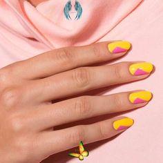 Bright & Bold #nails #bright #nails