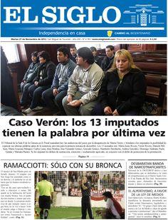 Diario El Siglo - Martes 27 de Noviembre de 20 12