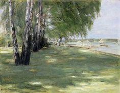 Titre de l'image : Max Liebermann - Le jardin de l'artiste dans Wannsee