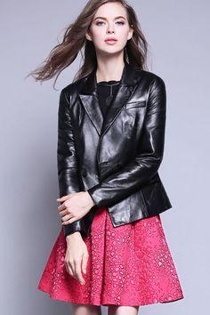 $580.99 Black Pockets Moto Jacket