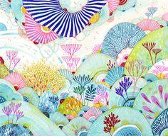 """Original Drawing by Yellena James - """"Spritz"""""""