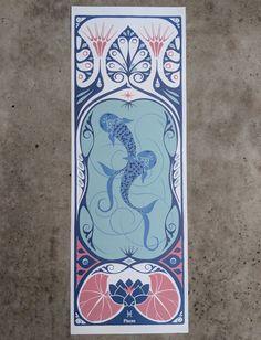 a38ba304 De 16 bedste billeder fra Art Nouveau Zodiac posters and cards i ...