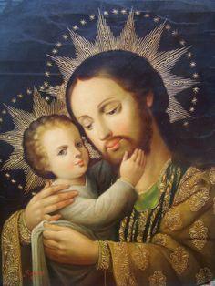 The love of St Joseph