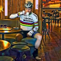 Peter Sagan Coffeetime @bettiniphoto