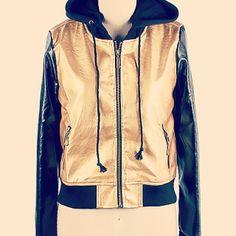 Golden Luxe Jacket www.VanityRow.com