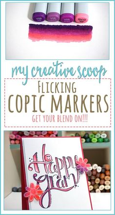 Check out how to blend by doing the Flicking Technique using Copic Markers. Then recycle your practice sheets to create beautiful handmade cards.I'm using Tammy Tutterow Designs Stamps and Dies Copic Marker Art, Copic Pens, Copic Art, Copic Sketch Markers, Copics, Coloring Tips, Free Coloring Pages, Adult Coloring, Ohuhu Markers