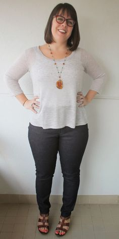Cookin' & Craftin': Ginger Skinny Jeans
