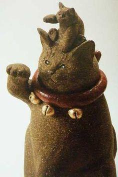 Maneki Neko on Pinterest | Tokyo, Cat and Good Luck