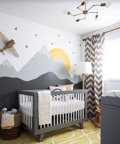 """""""Boy's nursery #ideas #interior #interiordecor #interiordesign #decor #design #desingspot #modern #eclectic #nursery"""""""