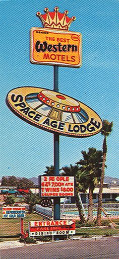 The Space Age Lodge in Gila Bend, Arizona Motel Postcard