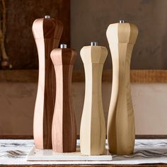 Williams-Sonoma Octagonal Walnut Wood Salt & Pepper Mills | Williams-Sonoma