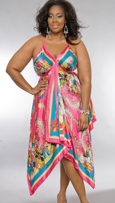 Big beautiful real women with curves fashion accept your body plus size body conscientiousness.love this, just not all the pattern goin' on. Plus Size Fashion For Women, Plus Size Women, Plus Fashion, Trendy Fashion, Women's Fashion, Fashion Trends, Plus Size Dresses, Plus Size Outfits, Plus Size Beauty