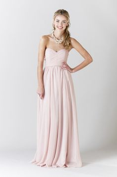 """this is pretty, Kennedy Blue's """"Olivia"""" Bridesmaid dress"""