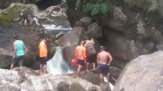 Salto El Bermejo, en El Pantano de Santa Fe, provincia de Veraguas, Panamá.