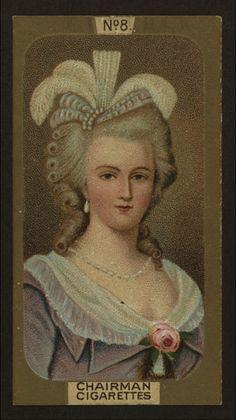 Marie Antoinette #cigarettecard