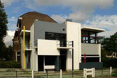 Casa Rietveld Schroder / Gerrit Rietveld - De Stijl
