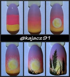Gel Nail Designs You Should Try Out – Your Beautiful Nails Diy Nail Designs, Nail Designs Spring, Autumn Nails, Winter Nail Art, Diy Nails, Cute Nails, Nail Art Fleur, American Nails, Nail Art Techniques