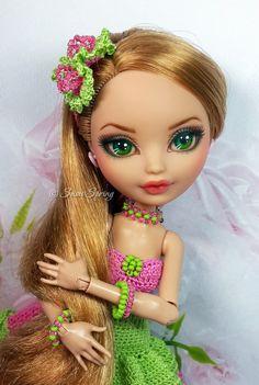 Ashlynn Ella Repaint by Marina Gridina / SnowSpring Dolls (vk.com/snowspring.dolls)