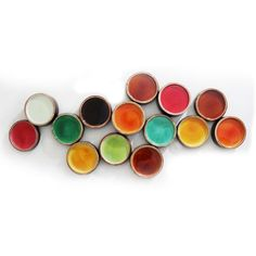 Add a unique look to your home with this stunning wall decor. Featuring vibrant colors with a sleek design, this multi-colored metal wall decor has a natural look and will accent any decor nicely. Art