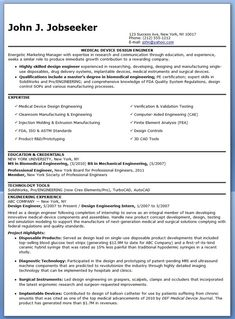 design engineer resume examples experienced