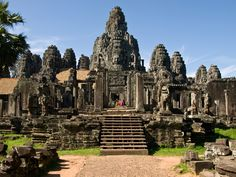 los templos de Angkor.
