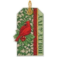 Dimensions® Holly & Ivy Ornament Counted Cross-Stitch Kit
