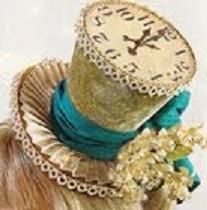 top hat. Can make this and take it out each year and wear it ~!~