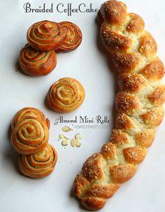 Panes dulces.