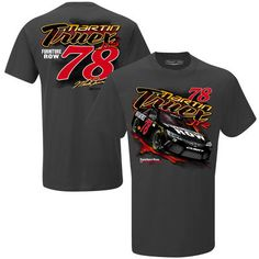 Men's Martin Truex Jr The Game Charcoal Fast and Loose T-Shirt