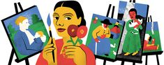 #PaulaModersohnBecker: 5 Fast Facts You Need to Know - Renowned German #expressionistpainter Paula Modersohn-Becker was born on this day in 1876. Her art bears witness to her courage, boldness, and ambition — a temperament that greatly influenced her short but prolific career. Google is honoring Paula Modersohn-Becker's #142ndbirthday with a #GoogleDoodle today, February 8. The painter revolutionized the art world and eschewed traditional limits put on women painters.