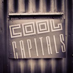 #COOLCAPITALS by @The Artchives on Instagram