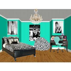 breakfast at tiffany's bedroom ideas | tiffany inspired room decorations