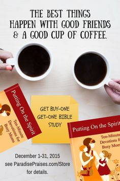 BOGO BIBLE STUDY FOR BUSY MOMS
