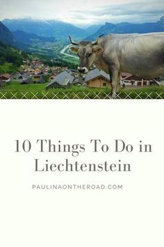 What to do in Liechtenstein? Everything from hiking to food, paragliding, outdoor options and info on the royal family. Travel in Europe.