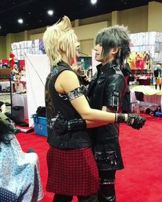 Final Fantasy XV cosplay