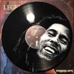 Portraits of Legendary Musicians Painted on Vinyl Records