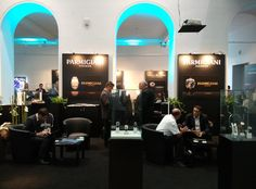 Our presentation at the fair with Parmigiani