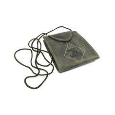Kožené pouzdro na cestovní doklady na krk - peněženky AHAL