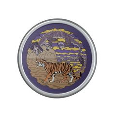 Tiger and Dragon Bluetooth Speaker.  50% Off Speakers Ends tonight! USE CODE: DIGITALBEATS  Offer is valid through February 18, 2017 11:59 PM PT.  #zazzle #speakers #tiger #dragon #eastern_dragon #Asian_dragon #oriental_dragon #Chinese_dragon #purple_dragon