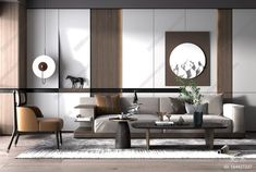 Living Room Sofa, Living Area, Wall Treatments, Drawing Room, Architectural Elements, Living Room Designs, Diy Home Decor, Wall Decor, Contemporary