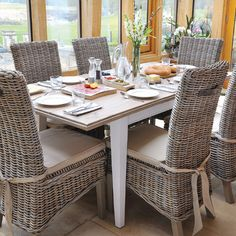 Reclaimed Wood Extending Dining Table and Chairs brought to you by Modish Living.