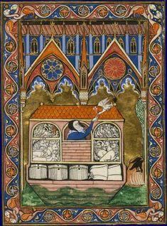 Psautier de saint Louis Paris, entre 1258 et 1270 Paris, BNF, département des Manuscrits, Latin 10525, fol. 3v.