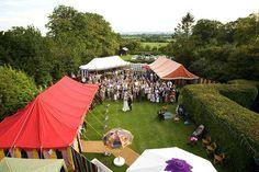 gypsy wedding tents